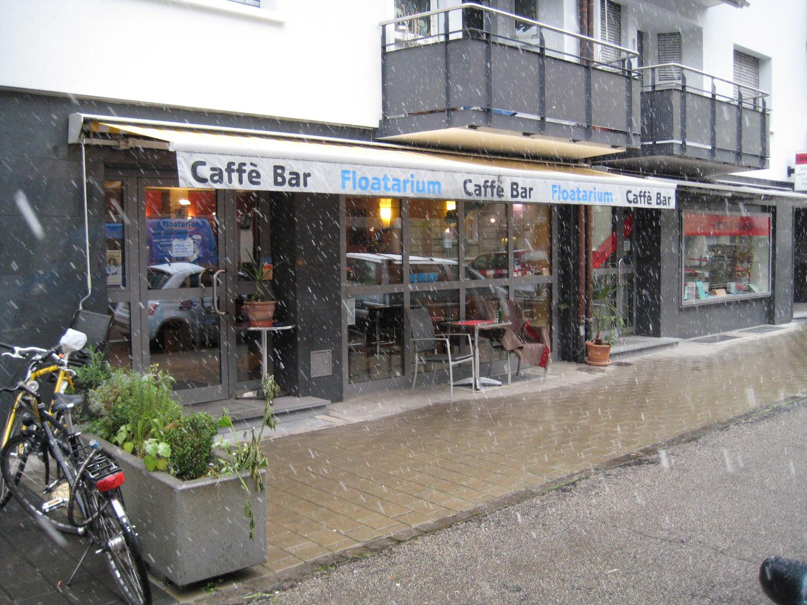"""Das """"Café eccetera"""" in der Mittleren Strasse 26"""