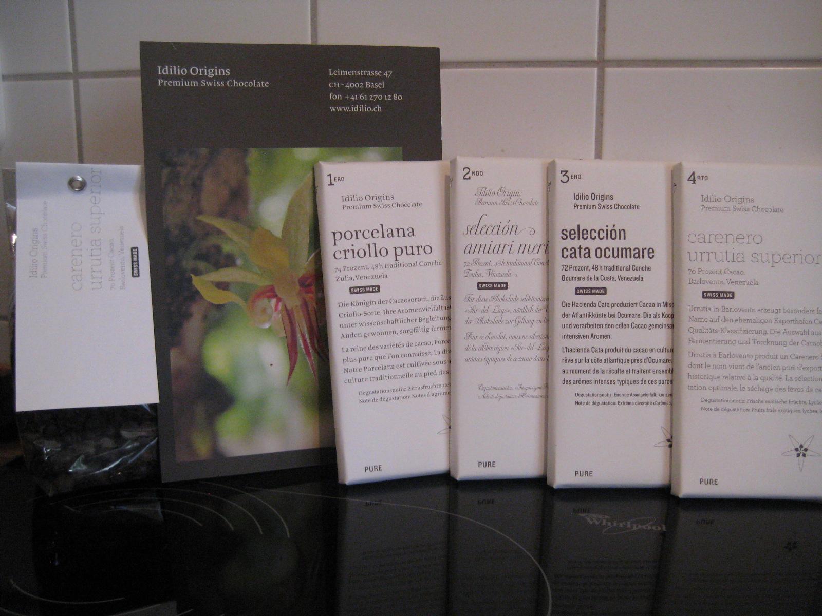 Idilio Origins - Premium Swiss Chocolate