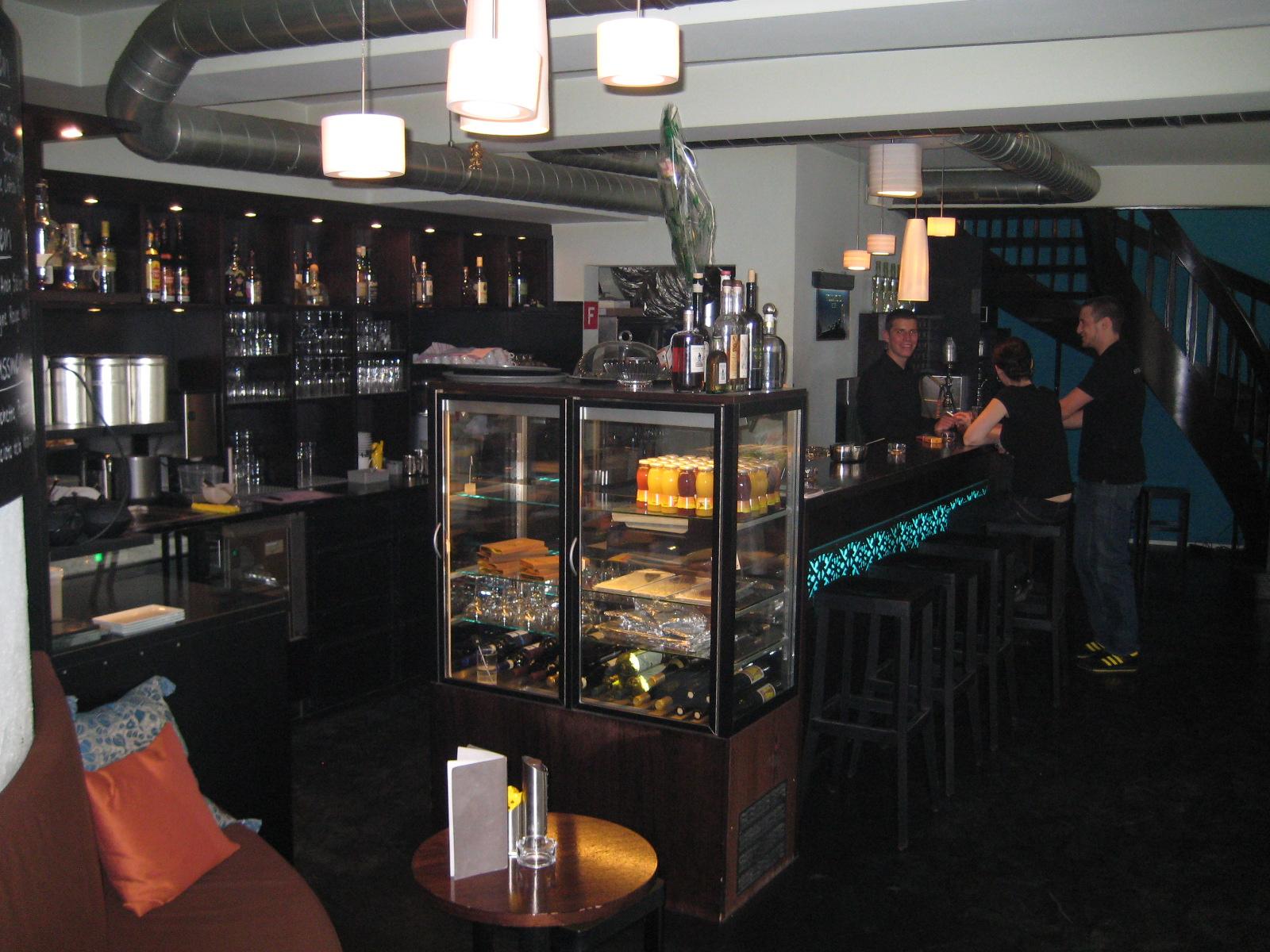 Die Shisha Bar von Innen