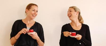 Carolin und Annika von der Black Pirate Coffee Crew