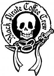 Black Pirate Coffee Crew