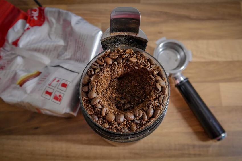 Gemahlener Arabica Kaffee