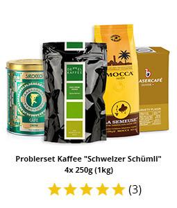 "Probierset Kaffee ""Schweizer Schümli"""
