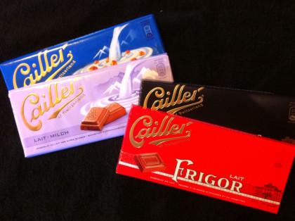 Cailler Milchschokoladen