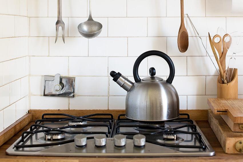 Wasser aufkochen für die perfekte Zubereitung