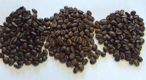 geröstete Bohnen für Espresso