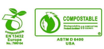 Zertifikat der Kompostierbarkeit