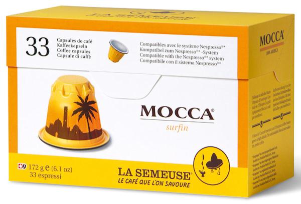 La Semeuse Mocca Kapseln 33 Stück Verpackungsbild