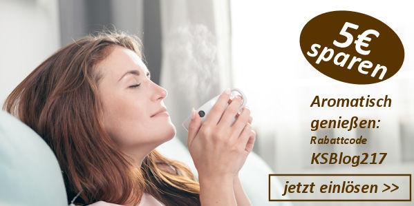 Kaffee ohne Bitterstoffe Gutschein