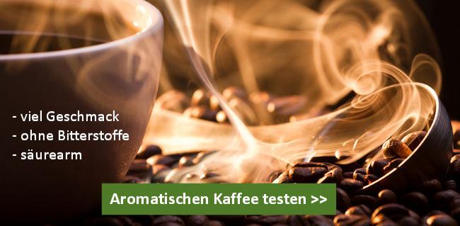 Kaffee ohne Bitterstoffe kaufen