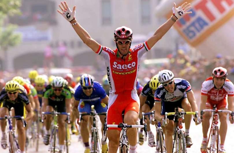Mario Cippolini Team Saeco