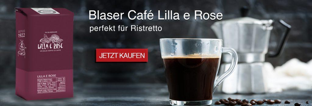 Espresso von BlaserCafe für perfekten Ristretto