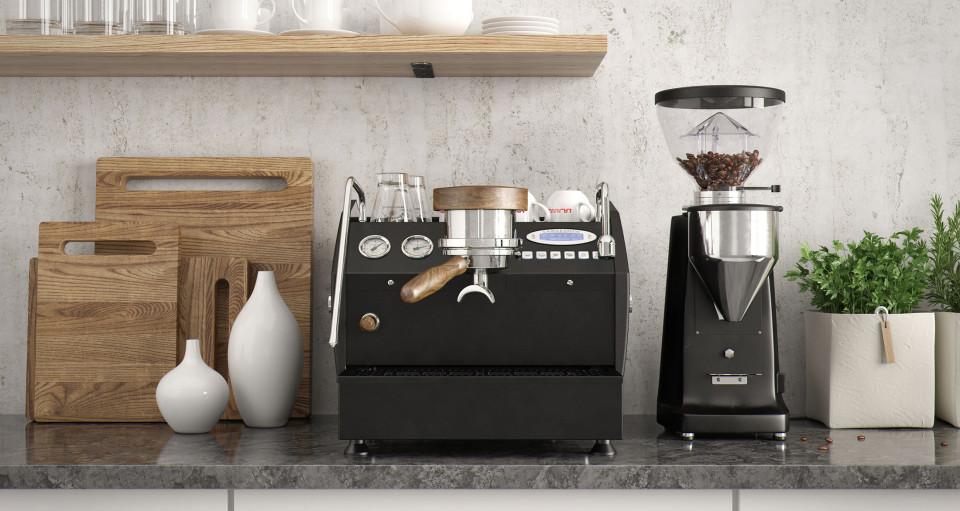 Espressobar zu hause