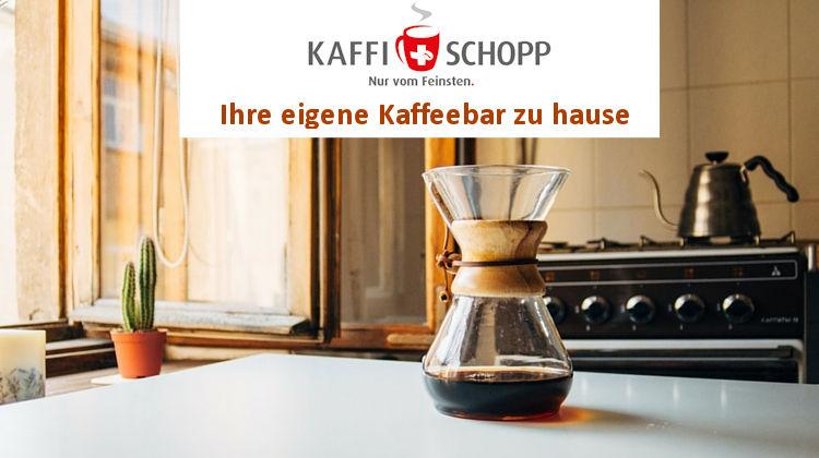 Kaffeebar zu hause