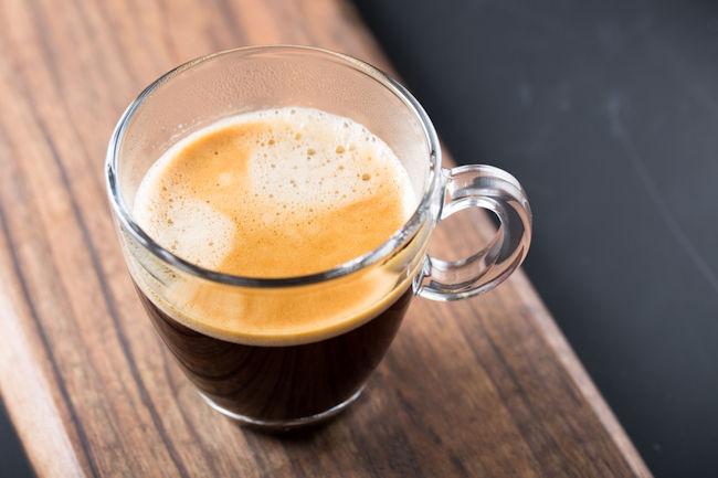 Kaffee Americano zubereiten