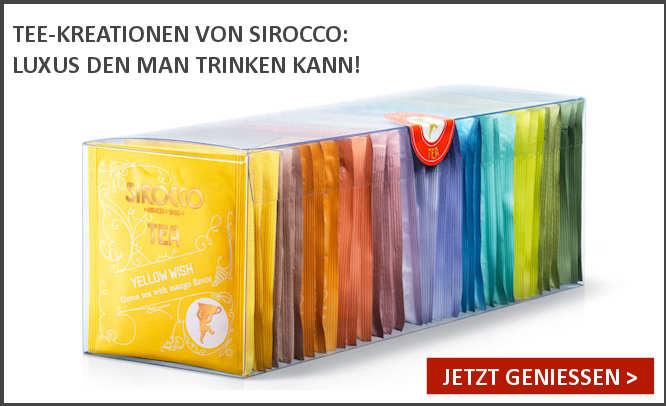 Spezialitätentee aus der Schweiz von Sirocco