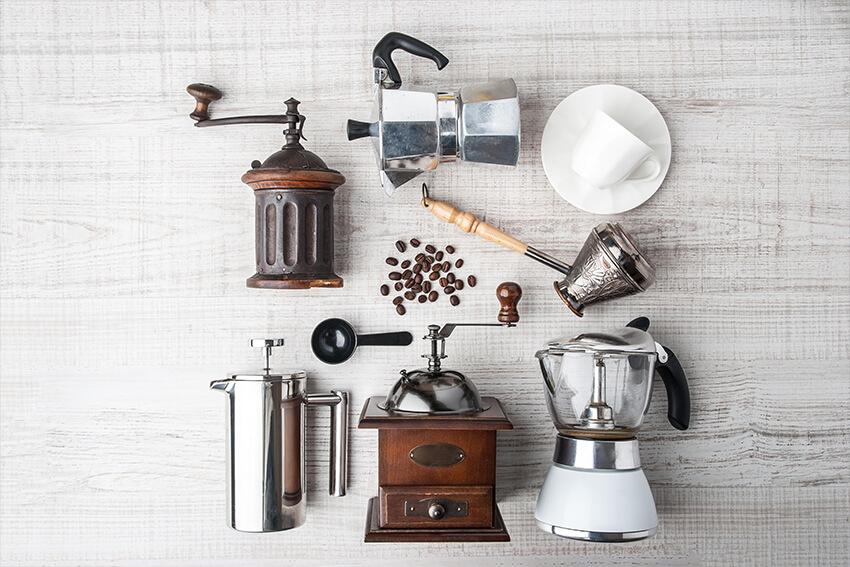 Zubehör zum Kaffeeaufbrühen