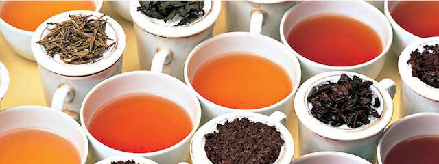 Tee bestellen und genießen