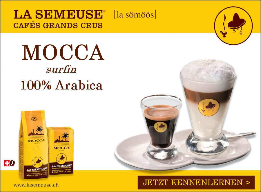 La Semeuse Mocca surfin 100% Arabica
