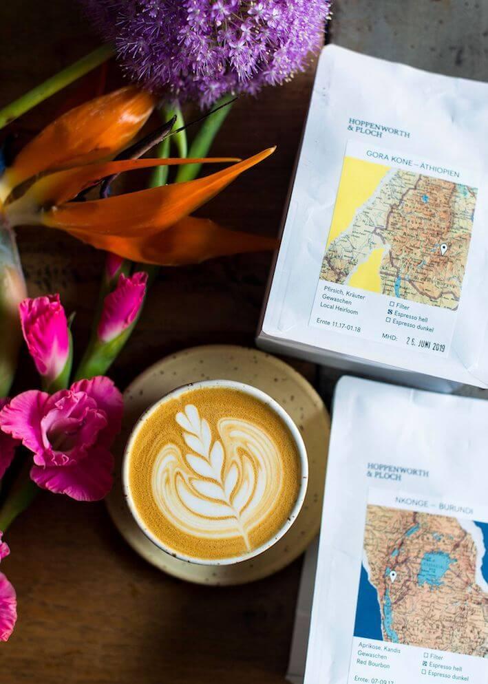 Kaffeepackungen