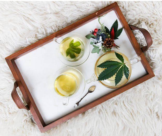 Hanftee (oder CBD Tee) entdecken und als Schlummertrunk nutzen