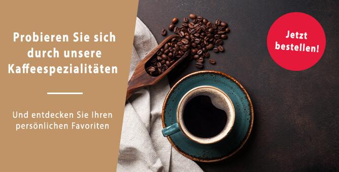Kaffeespezialitäten im Kaffi Schopp entdecken