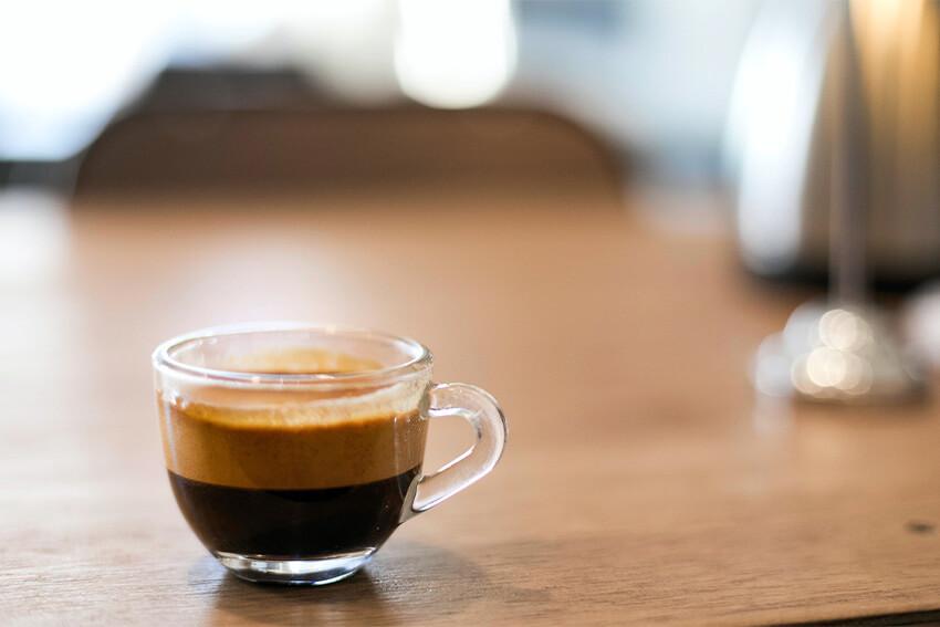 Zubereitung Kaffee Lungo