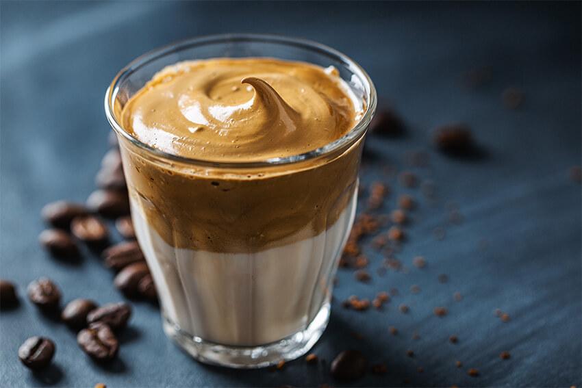 Dalgona Kaffee - Kaffee Trend aus Südkorea