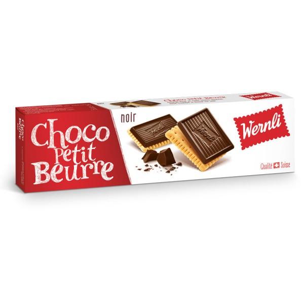 Wernli Butterkeks dunkle Schokolade