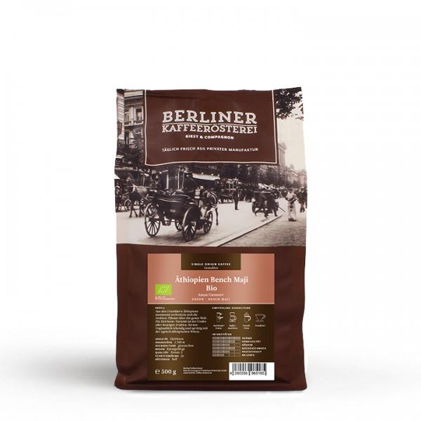 Berliner Kaffeerösterei Äthiopien Bench Maji Bio (500g / gemahlen)
