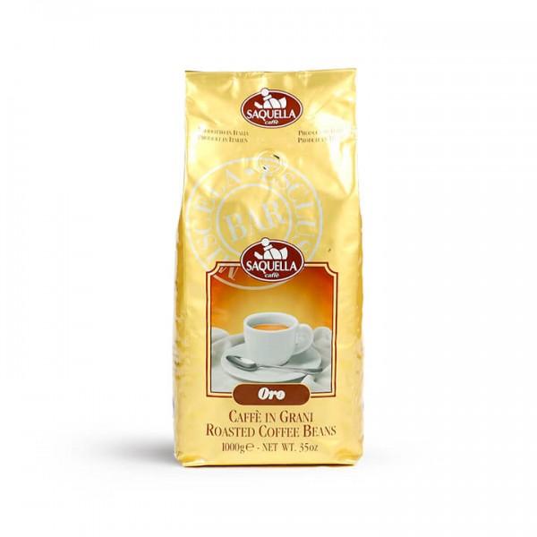 Saquella Caffè - Miscela Oro Bar 1000g Bohnen