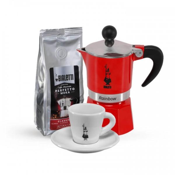 Kaffee Experience für Zuhause I rot