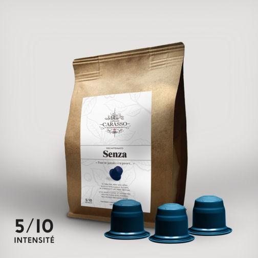 Senza entkoffeinierte Kaffeekapseln