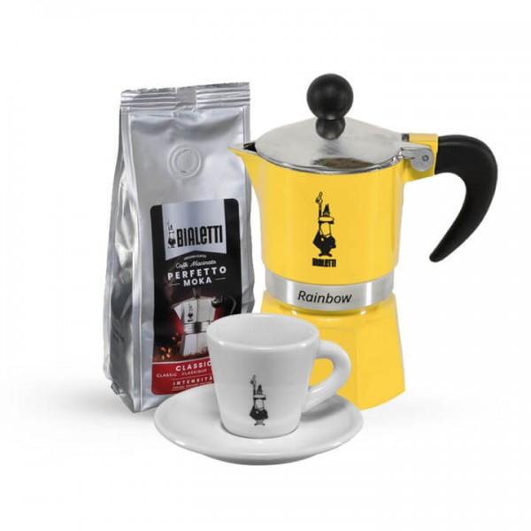 Kaffee Experience für Zuhause I gelb