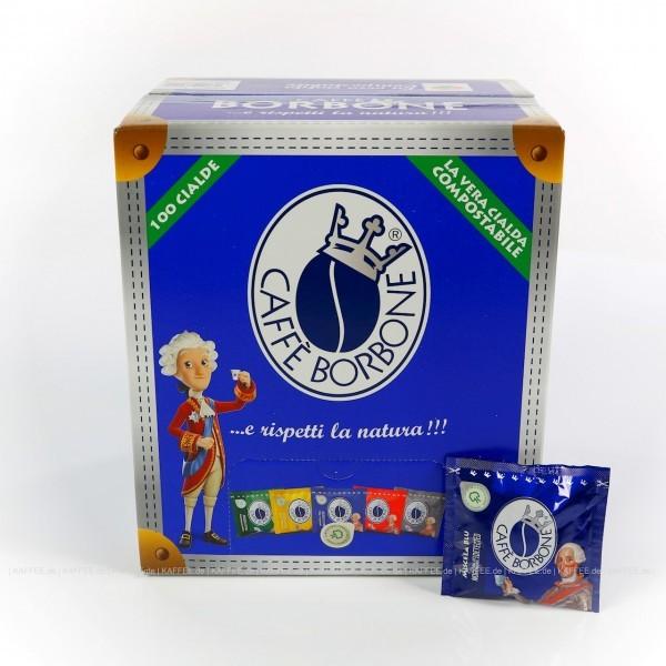 Borbone Caffè Miscela Blu ESE-Pads - 100x 7g