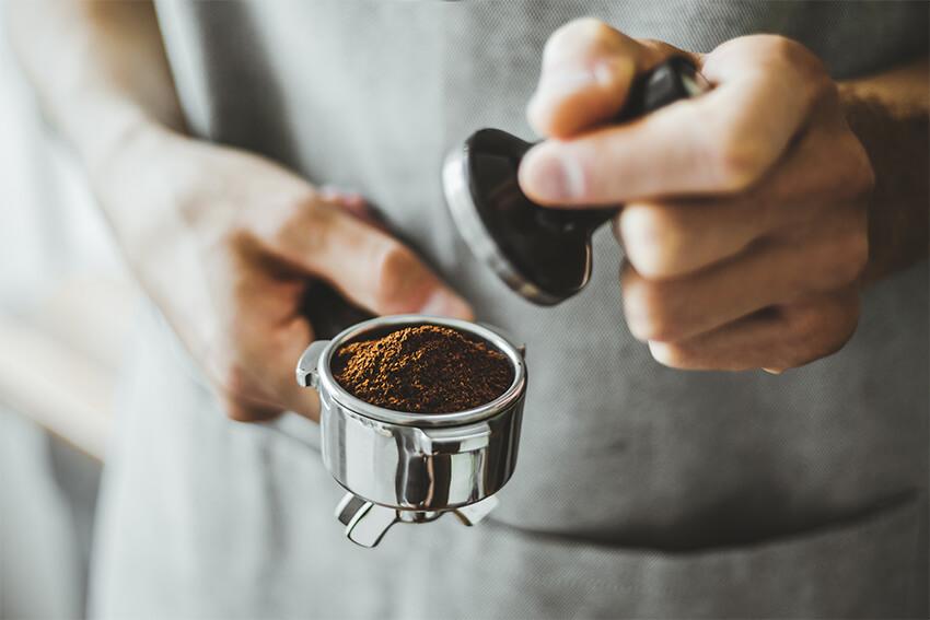 Kaffi-Schopp-Tamper