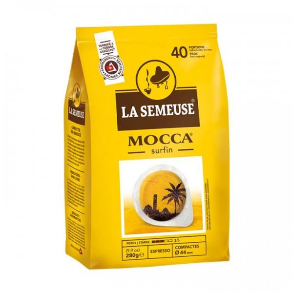 La Semeuse Mocca ESE Espresso Pads 40x 7g