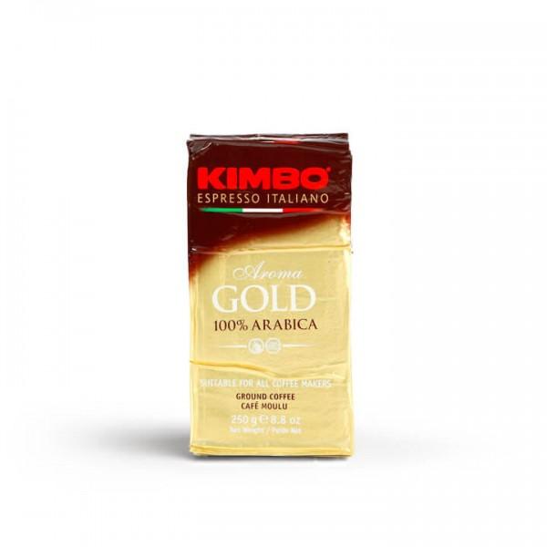 Kimbo Aroma Gold 250g gemahlen