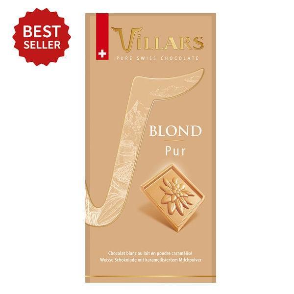 Villars weiße Schokolade Blond