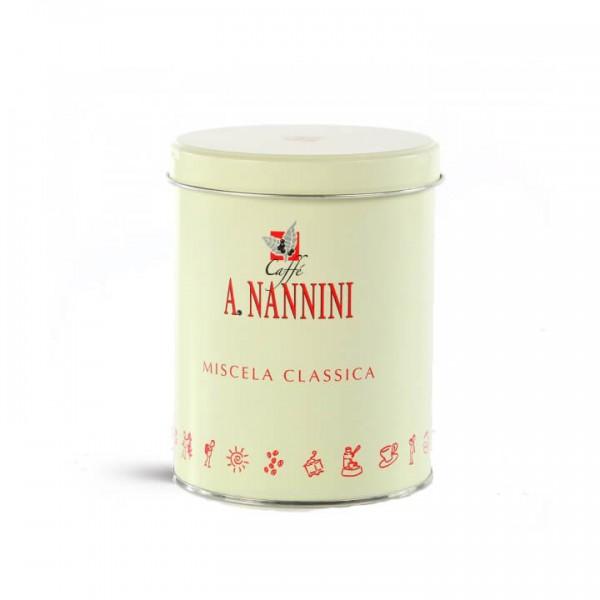 Nannini Classica 250g Bohnen Dose