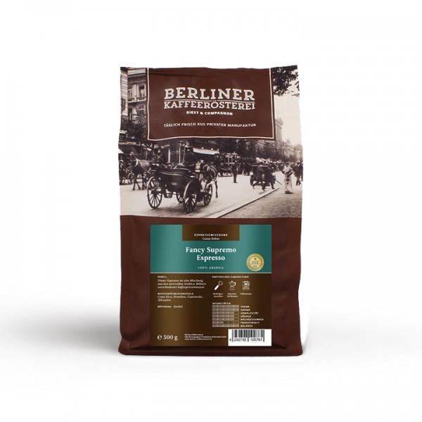 Berliner Kaffeerösterei Fancy Supremo Espresso (500g / ganze Bohne)
