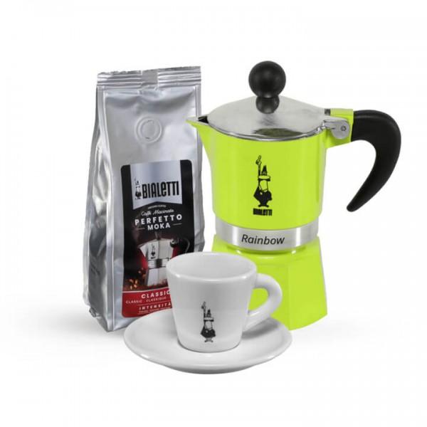 Kaffee Experience für Zuhause I grün