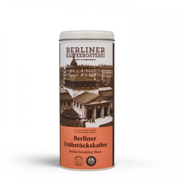 Berliner Kaffeerösterei Berliner Frühstückskaffee (125g / gemahlen) mit Doppeldeckeldose