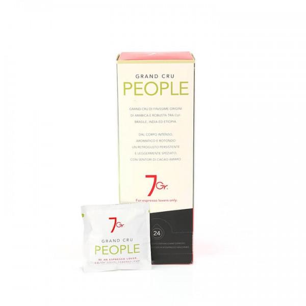 7 GR. PEOPLE COFFEE GRAND CRU 24 ESE PADS