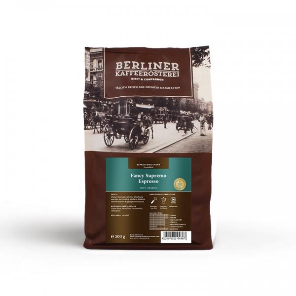 Berliner Kaffeerösterei Fancy Supremo Espresso (500g / gemahlen)