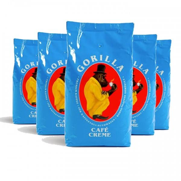 Bohnen fürs Büro Gorilla Café Creme 5kg (10% günstiger)