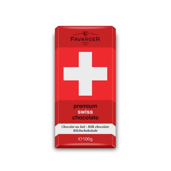 Favarger Milchschokolade Swiss