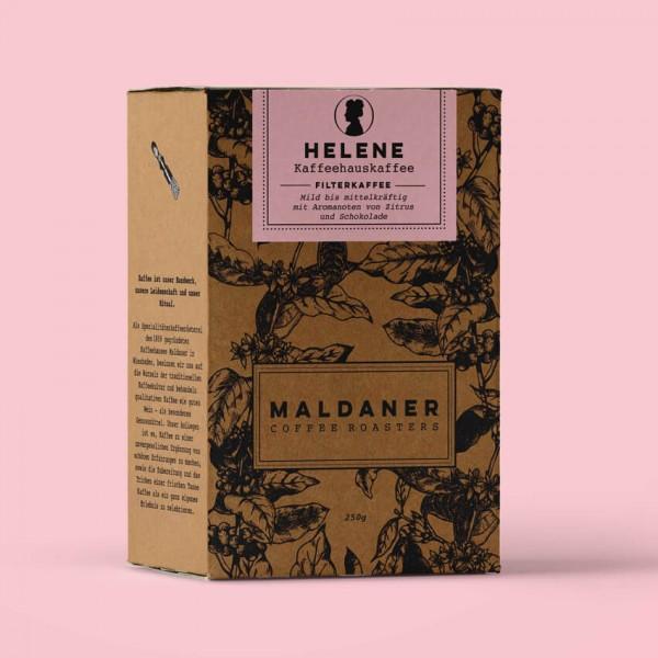 Helene Filterkaffee, Maldaner Coffee Roasters