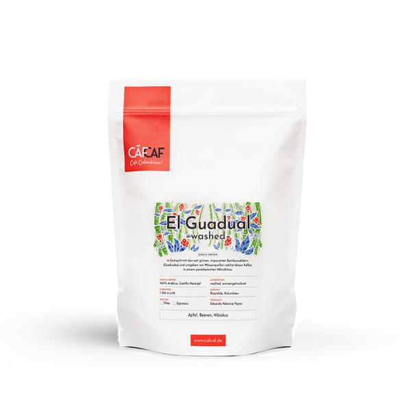 CafCaf Filterkaffee El Guadual washed fermentiert 1000g