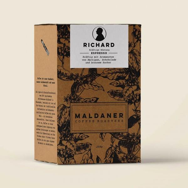Richard Espressobohnen, Maldaner Coffee Roasters